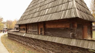 Old Romanian Wooden Building