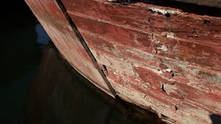 Old Ship Wooden Hull