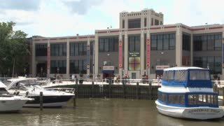 Old Torpedo Factory in Old Town Alexandria