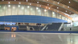 Olympic Ice Rink in Vancouver
