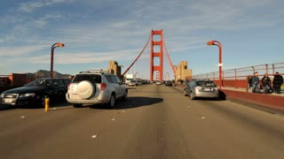 On Golden Gate Bridge