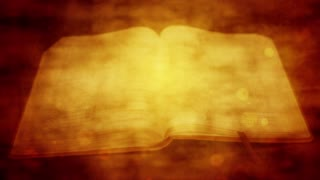 Open Bible Vintage Religious Motion Background