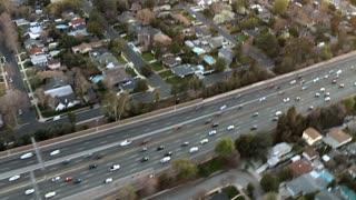 Opposing Traffic Aerial