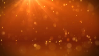 Orange Particle Field