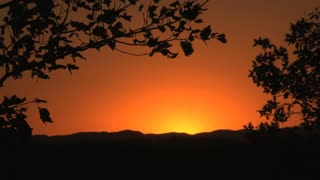 Orange Sunset 2