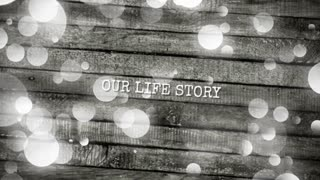 Our life story wedding slideshow template