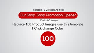 Our Shop - Product Promotion Opener