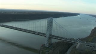 Outgoing View of George Washington Bridge 1