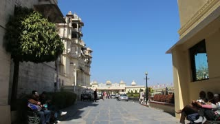 Outside of Udaipur Palace 3