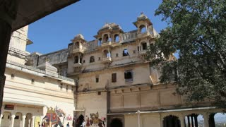 Outside of Udaipur Palace