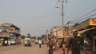 Outskirts Of Kinshasa Driving