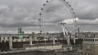 Overcast Day in London England