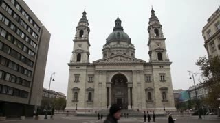 Overcast Hungarian Cathedral