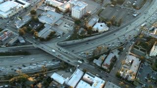 Overhead Highway Bend