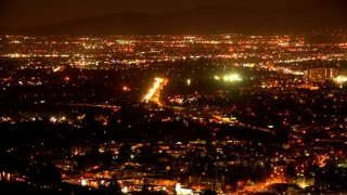 Overhead LA Lights View
