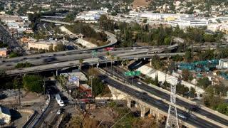 Overhead LA Roadway
