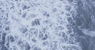 Overhead Shot of Water Swaying