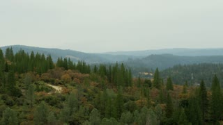 Overview Landscape Grass Valley Scene