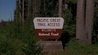 Pacific Crest Park Sign
