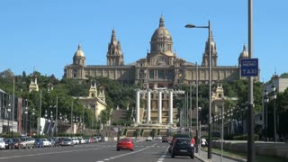 Palau Nacional (National Palace) in Barcelona Spain 2