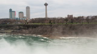 Pan Across Niagara Gorge