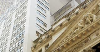 Pan Across NYSE Facade