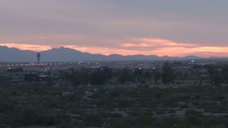 Pan Across Phoenix Landscape