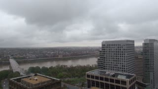 Pan Across Rosslyn Cityscape
