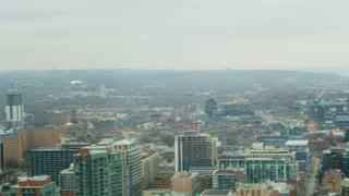 Pan Across Toronto Suburbs