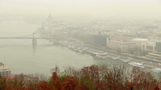 Pan Around Budapest and Danube