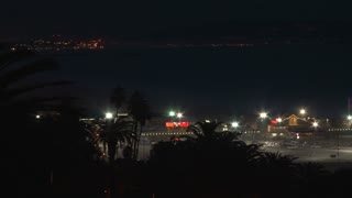 Pan Around Santa Monica Pier