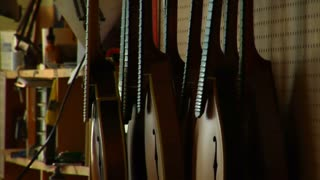 Pan From Stringed Instruments To Worker