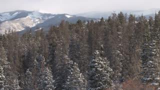 Pan Of Mountain Vista