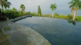 Pan of Pool in Hawaii