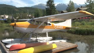 Pan Of Seaplanes In Scenic Landscape