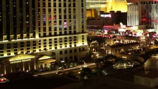 Pan Timelapse Around Vegas Street