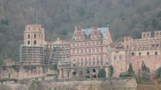 Panning Across Heidelsberg Castle