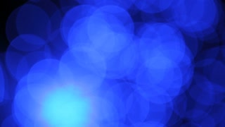 Panning Large Blue Spots of Light