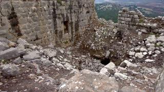 Panning Shot of Ruins