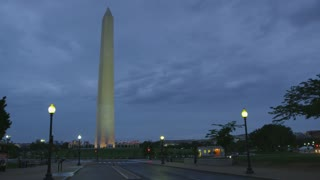 panoramic view of washington monument, Washington DC