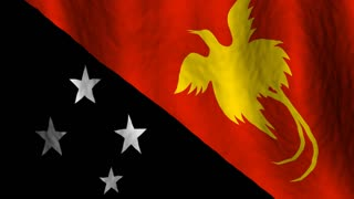 Papua New Guinean Flag