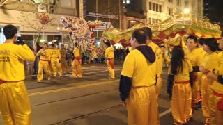 Parade On San Francisco Streets