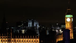 Parliament and Big Ben Pan Left