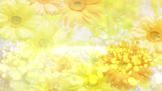 Particle Light Flower Background 03