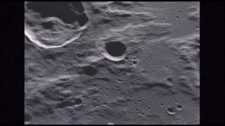 Passing By Giant Moon Craters 2