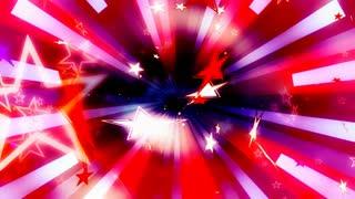 Patriotic Stars Red