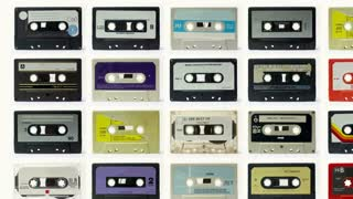 Pattern Wall Cassette Tapes