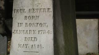 Paul Revere Grave Stone