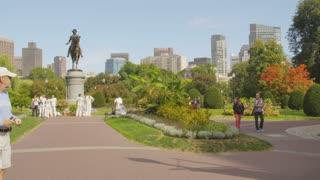 Paul Revere Statue in Park