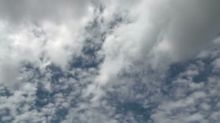 Peaceful Cloudy Sky Timelapse